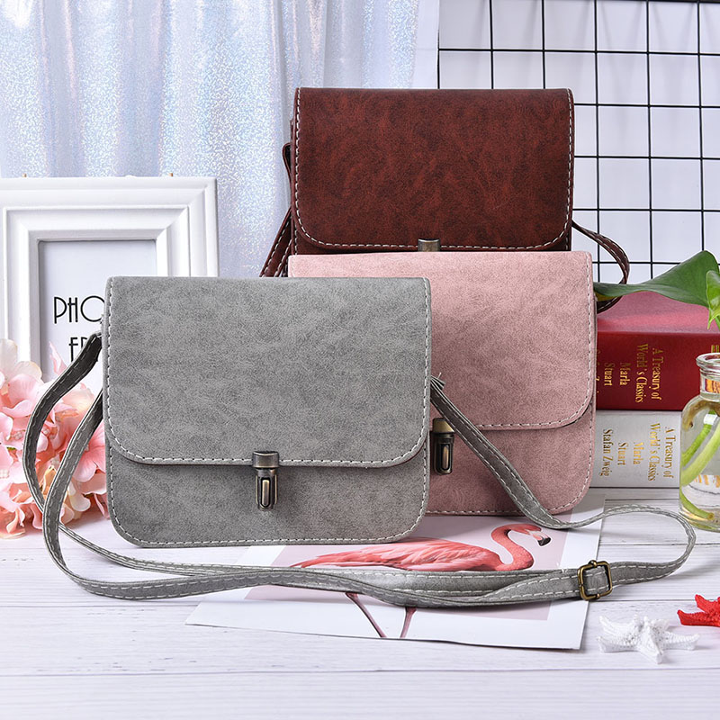 1PC Bullet Lock Messenger Bag Women Small Side Of Mini Mobile Phone Nice Bags Shoulder Bags 1