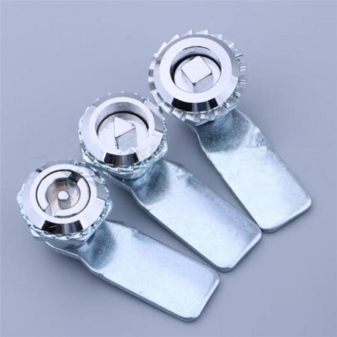 1 set Zinc Alloy MS705 Triangular lock Gas Meter Lock Key Gas Electric Meter Box Latch Cam Locks hig