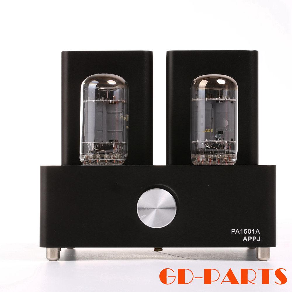 APPJ PA1501A Mini 6AD10 amplificateur à tubes sous vide Hifi Audio Vintage Valve Tube intégré ampli à lampes de bureau