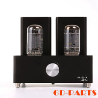 APPJ PA1501A Mini Stereo 6AD10 Vintage Vacuum Tube Amplifier Desktop HIFI Home Audio Valve Tube Integrated