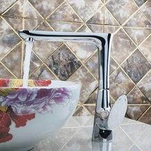 Лучшие кухня torneira высокое качество поворотный 360 Chrome 92364 Раковина Одной ручкой водопроводной воды судно смеситель кран