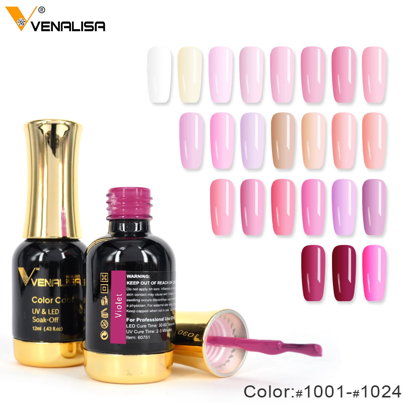 Venalisa Organic Gel Lacquer 12ml CANNI 111 Colors Nail Art Design ...