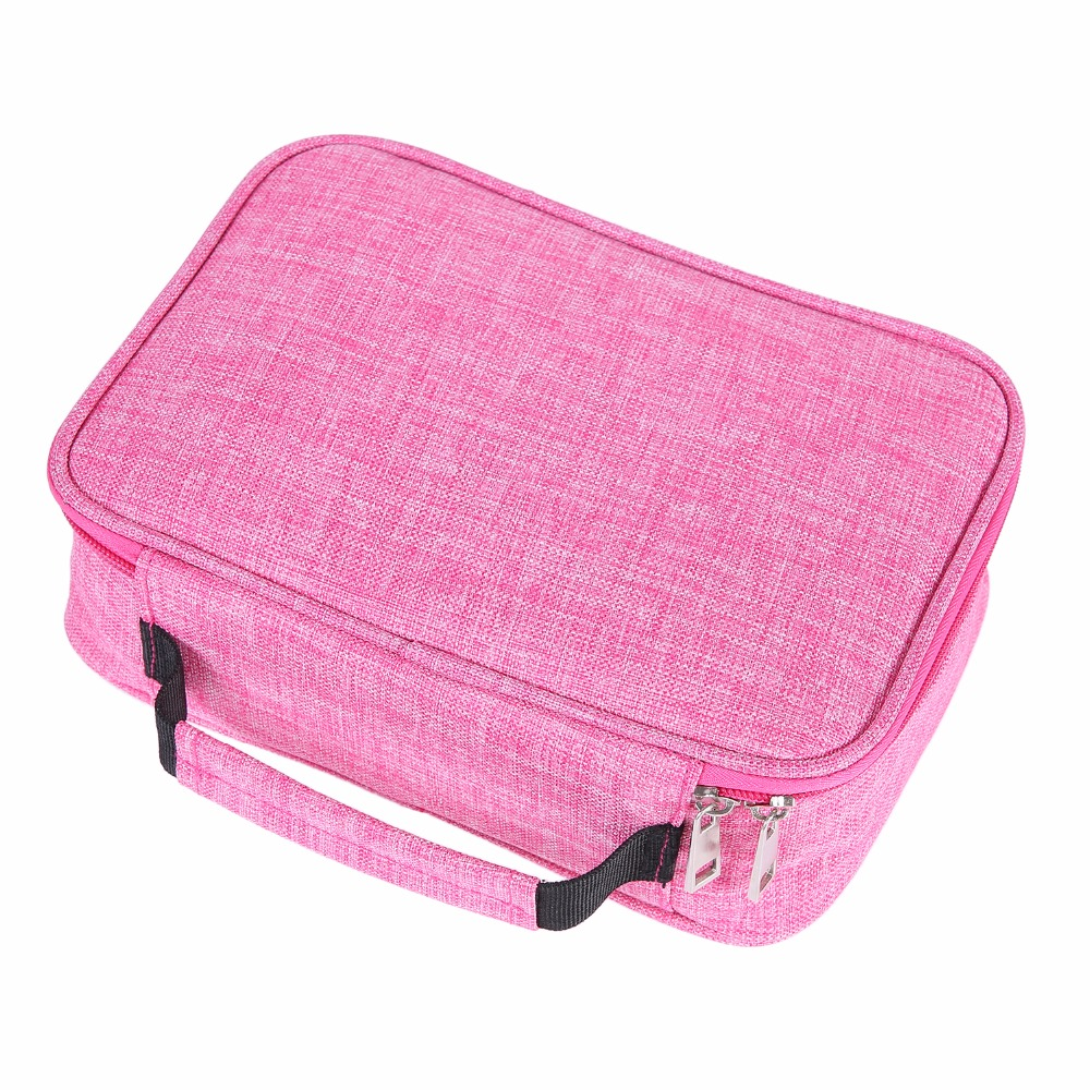 все цены на 72 holes pencil case box Oxford cloth papeleria High capacity pencilcase school tools astuccio scuola stationery pen bag онлайн