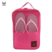 New Design Travel Portable Handle Waterproof Shoes Tote Pouch Shoe Organizer Underwear Bra Socks Storage Bag