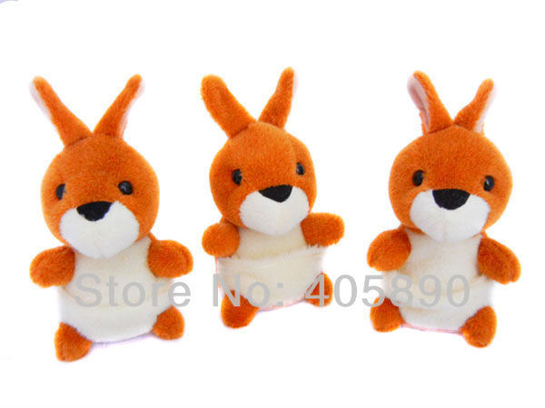 3pcs/lot 2014 New Design Repeat Speak Any Language Early Learning Talking Kangaroo Plush Toy Children Best Playmate Or Gift