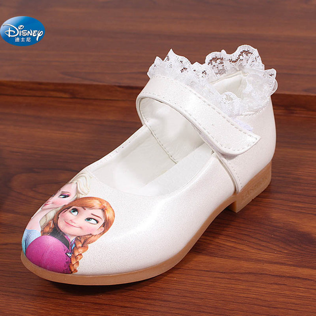 91ce6fbbddc Disney congelado branco Sapatos Casuais meninas 2017 primavera novo estilo  elsa e Anna princesa dos desenhos