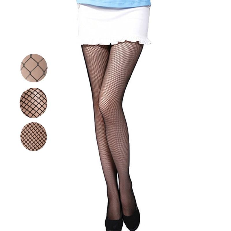 Aukštos kokybės vasaros stiliaus moterys, tinklinės pėdkelnės, mados, seksualios kojinės, ledi kietos juodos spalvos nailoninės pėdkelnės. Nemokamas pristatymas