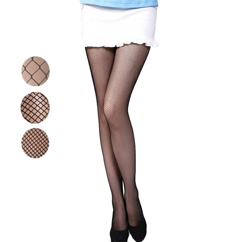 Visokokakovostni poletni ženski Mrežne nogavice Moda Seksi Nogavice Lady Cool Črne mreže Najlon Najlonke Najlonke