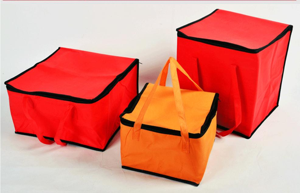 28x28x18cm Food, Fruits, Drink Thermal Insulation Bag, Cold Keeping, Fresh Packet, Travel, Picnic, Outdoor Insulation Box