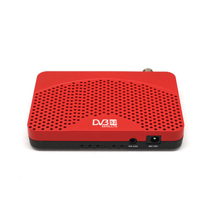Image 2 - DVB S2 mini DVB TV BOX Ricevitore Digitale Satellitare supporto Biss Youtube IPTV Cccam USB 2.0 + USB wifi dongle set top box