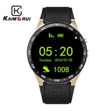 Купить с кэшбэком Kaimorui Smart Watch Android 5.1 Bluetooth Smartwatch MTK6580 with SIM Card GPS WiFi 512MB+8GB Watch Phone For Android IOS Phone