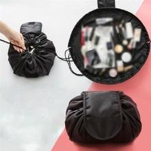 цены Women Drawstring Travel Cosmetic Bag Makeup Bag Organizer Make Cosmetic bag Case Storage Pouch Toiletry Beauty Kit Box