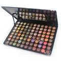 Novo 88 cores da paleta da sombra naked compõem pearly lustre/fosco cosméticos mineral maquiagem kit paleta da sombra de olho profissional