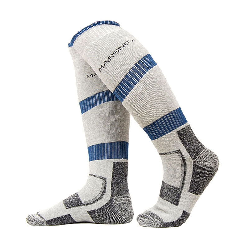 New Winter Warm Men Thermal Ski Socks Thick Cotton Sports Snowboard Cycling Skiing Soccer Socks Thermosocks Leg Warmers sox ...