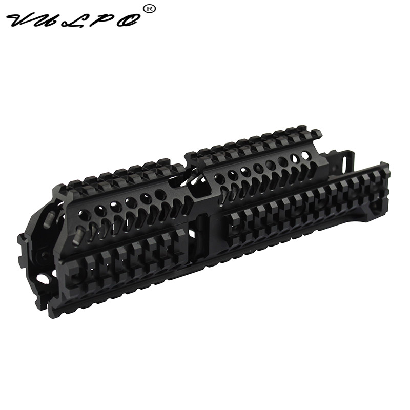 VULPO AK47 Tactical Quad Rail Picatinny Handguard System For AK Airsoft AEG