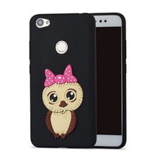 лучшая цена Xiaomi Redmi Note 5A Prime Case Cute Owl Silicone Case Cover for Funda Xiaomi Redmi Note 5A Pro 32 64 GB 5A 4A Xiomi Phone Case
