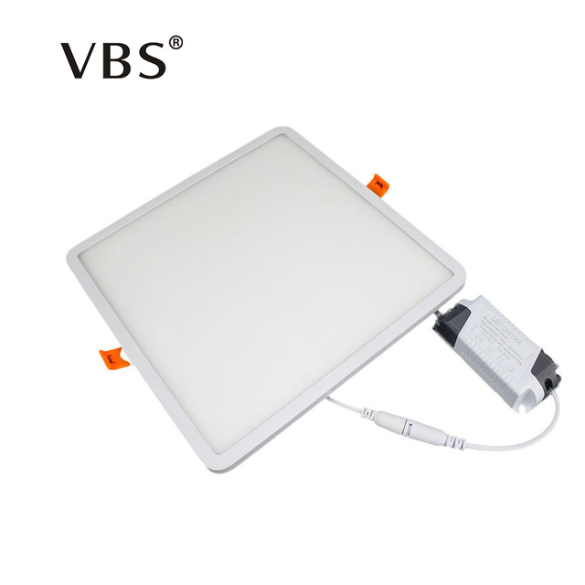 Dimmable Slim Frame Led Panel Light Square Round 6W 12W 18W 24W Ultra Thin