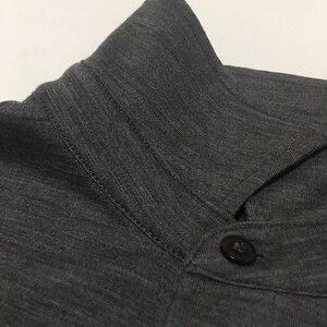 Image 2 - 100% australien Merino Täglichen Polo herren Kurzarm, herren Merino Wolle Täglichen Polo Hemd, 2 farben, 180GSM größe XS bis XL