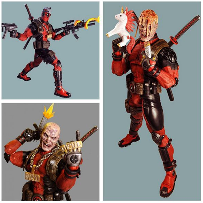 Ultimate Deadpool Mutants Toys Action Figurines PVC Model Collectible Toy Movable Joints Deadpool Anime Gift Brinquedos Doll XMUltimate Deadpool Mutants Toys Action Figurines PVC Model Collectible Toy Movable Joints Deadpool Anime Gift Brinquedos Doll XM
