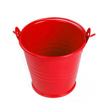 5Pcs Mini Cute Candy Succulent Plant Bucket Balcony Hanging Flower Pot Barrel Wedding Birthday Party Gift Toys For Kids