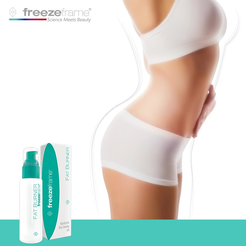 Australia Freezeframe FAT BURNER 100ml Dry body oil Luxurious body oil Slim body Body solutions Smooth glowing skin Leaner look in Body Self Tanners Bronzers from Beauty Health