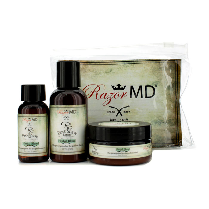 Razor MD - RX Shave Trio (Herbal Blend): Post Shave Lotion 60ml + Pre Shave Oil 30ml + Shave Cream 60ml yeeloo 60ml page 5
