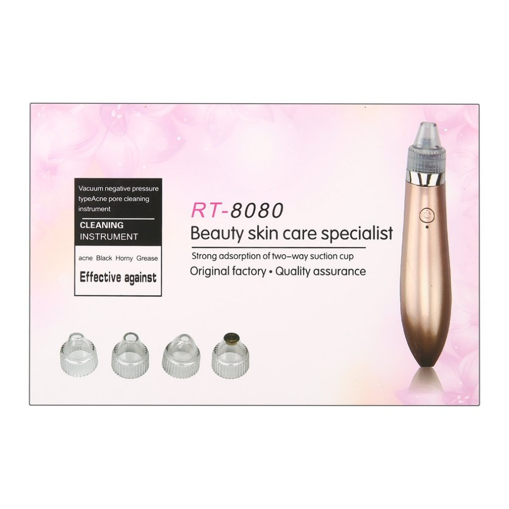 Vacuum Negative Pressure Type Acne Pore Cleaning Instrument Beauty Skin Care Specialist With Strong Adsorption Home Travel Use In Massage Relaxation From