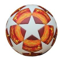 Red Madrid 19 Final Balls 2018 2019  League Soccer Ball PU high quality seamless paste skin Blue Match football ball