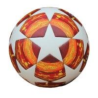 Red Madrid 19 Final Balls 2018 2019 Champions League Soccer Ball PU high quality seamless paste skin Blue Match football ball