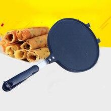 Crepes-Baking-Mould Pan Enhanced Pancake-Pan Crisp Egg-Roll Gifts 22cm Non-Stick DIY