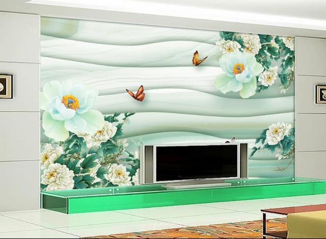 3D Moderne Wandbild Tapete Für schlafzimmer 3dD blume Wandbilder wohnzimmer  Dekorative Gemälde