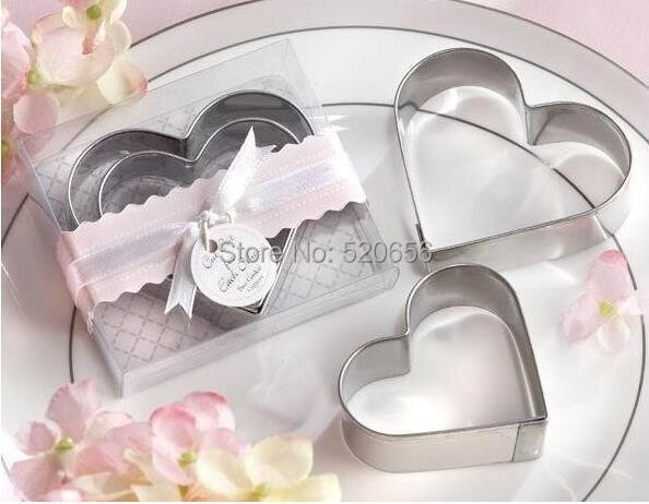 Wedding Favor Heart Cookie Cutter Bridal Shower Favor Guest Gift Baby  Shower Favor Presents Reception Gift