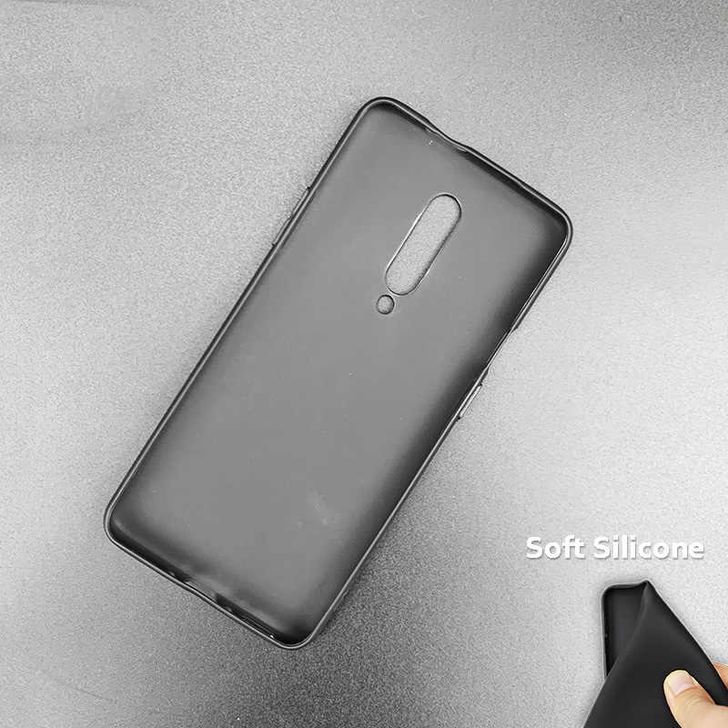 Pola Bisnis Ponsel Hitam Karet Silikon Lembut Case Casing Cover untuk 1 + OnePlus 6T Kasus 6 7 Pro 5G Fundas DC Shazam! Deadpool