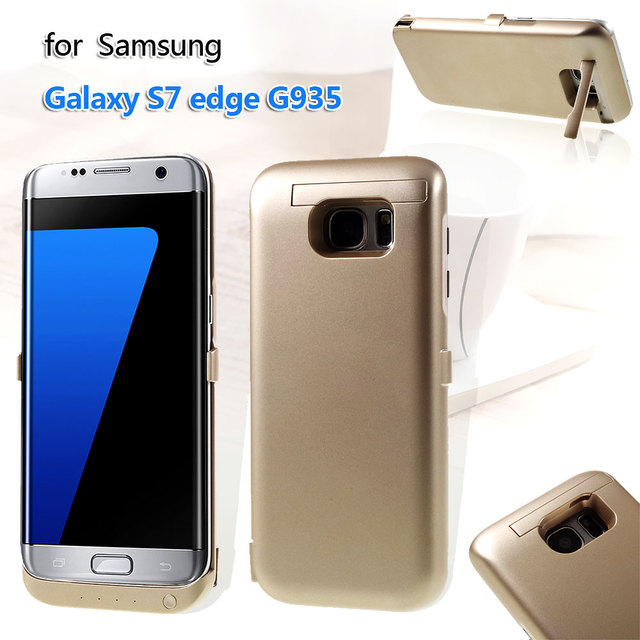 Case for Samsung S7 edge Case 6800mAh Backup Battery Charger Cover for Samsung Galaxy S 7 edge G935 Cover Mobile Phone Bag