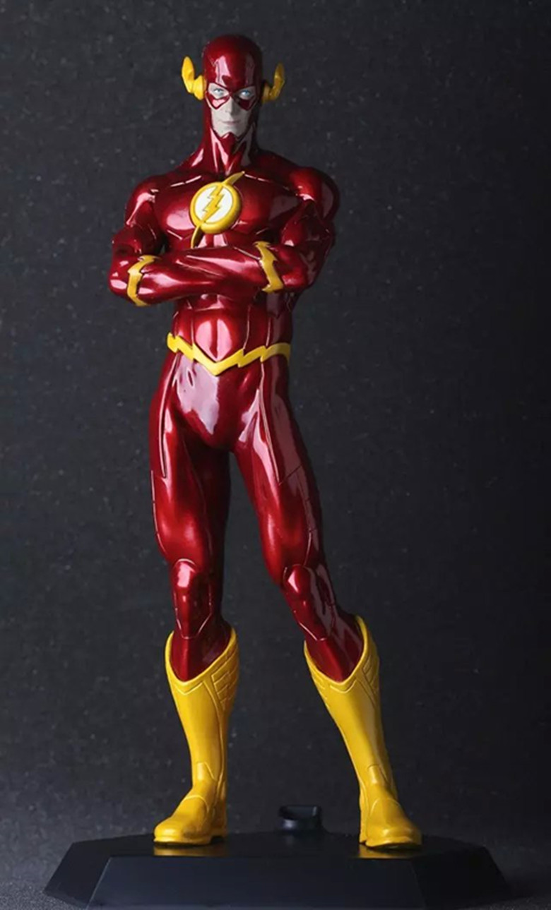 Hot Sale DC Comic Justice League Super Hero The Flash Crazy Toys Figurine 25CM Action Figure Collectible image