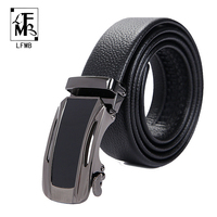 LFMB 2017New Genuine Leather Belts Business Casual Designer Leather Belt Men Brand Casual Strap Belts