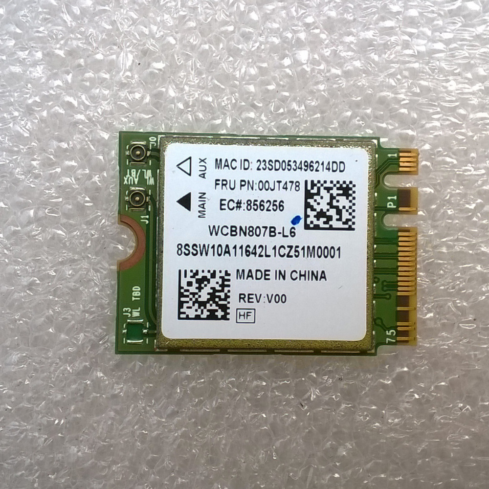 BCM4356 2x2AC+BT4.0 PCIE M.2 WLAN Adapter For Lenovo Thinkpad X260 T560 P50S L560 B50 70 N50 70 Series ,FRU 00JT478 SW10A11642
