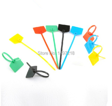 New 2014 freeshipping 500 pcs/lot 3*150mm Nylon Cable Tie with label - Plastic Zip Ties markers Tag for computer wire