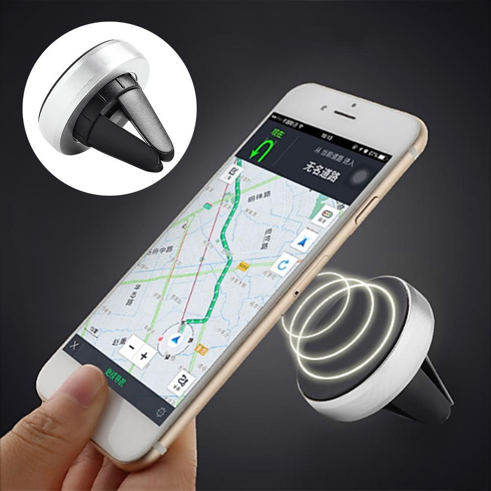 Universal 360 Rotation Car Phone Holder Magnetic Air Vent Mount Stand Mobile Phone Holder for iPhone 7 5s 6 Plus Samsung