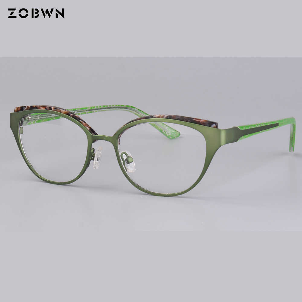86962ae0c259 ... wholesale round children eyeglasses metal mixed acetate green Goggles Reading  Glasses UV400 cat eye kids harry ...