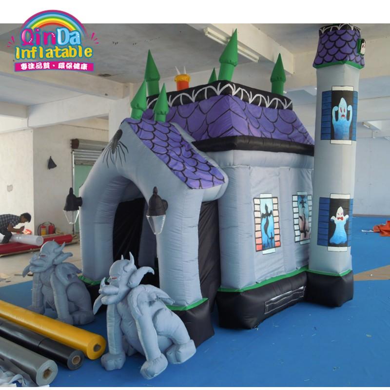 halloween inflatable haunted house29