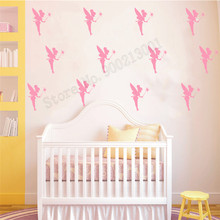 Room Decoration 20 PCS Wall Sticker Fairies Nursery Poster Vinyl Removeable Decal Magic wizard Ornament Beauty Mural LY521 1 school линейка magic fairies сердце