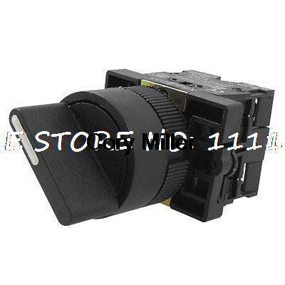 цена на 600V 10A Three 3 Position Rotary Select Selector Switch 2 NO N/O XB2-ED33