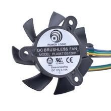 Бесплатная доставка революция в системах охлаждения PLA04710S12HH Вентилятор охлаждения 12 В 0.18A 37 мм вентилятор 4pin видеокарта вентилятор охлаждения