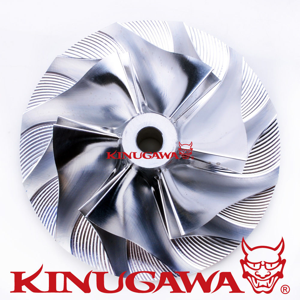 Kinugawa Turbo Billet Compressor Wheel 48 3 68 01mm 6 6 for Mitsubishi EVO 3 TD05H 16G in Turbo Chargers Parts from Automobiles Motorcycles
