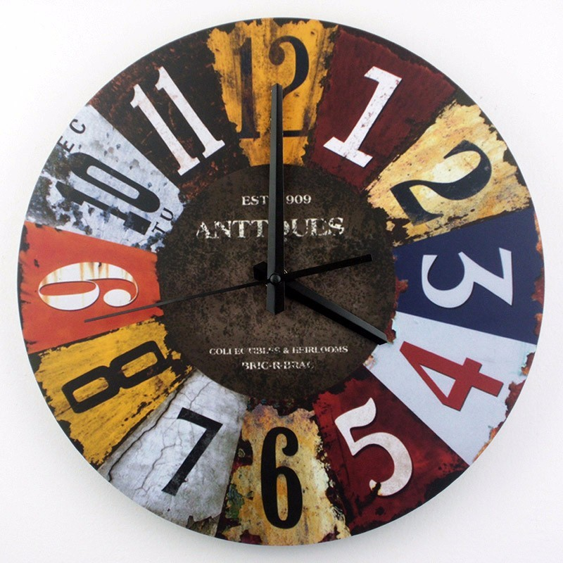 Large Decorative Wall Clocks Modern Design Silent Living Room Clock Watches Home Decor Orologio