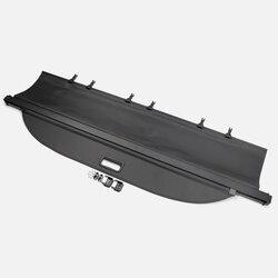 Akcesoria samochodowe na tylny bagażnik bagażnika pokrywa bagażnika odcień pokrywa bezpieczeństwa czarny 1 sztuk dla Ford Explorer 2011-2018