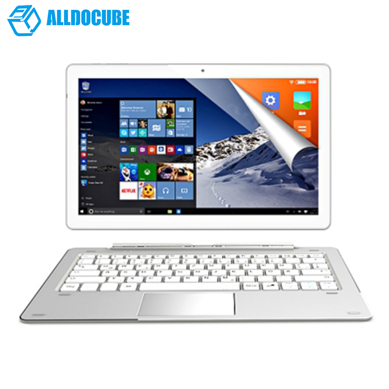 ALLDOCUBE IWork 10 Pro 2 In 1 Tablet PC 10.1'' Windows 10+Android 5.1 4GB+64GB Intel Cherry Trail X5-Z8350 Quad Core Tablet HDMI