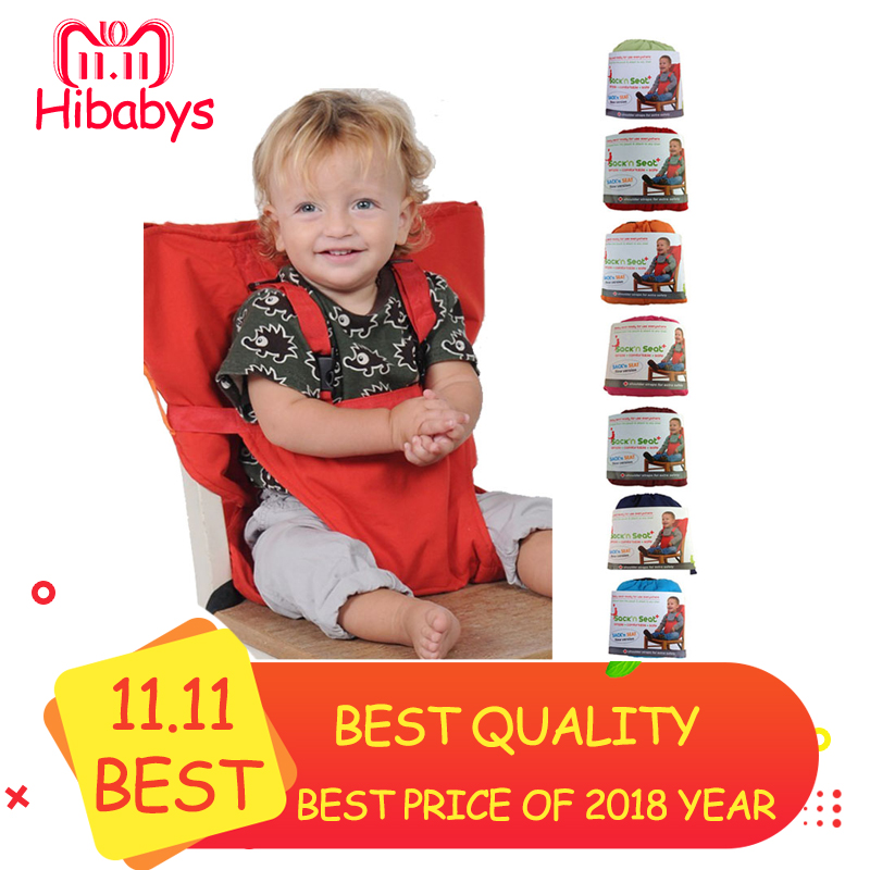 Baby Chair Portable Infant Seat Carrier Dining Lunch Chair/Seat For Kids Safety Belt Feeding High Chair Harness Baby Chair Seat portable baby high chair booster seat kid infant baby dining lunch feeding chair plastic chair folding seggiolone portatile baby