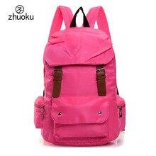 Фирменный дизайн ноутбук рюкзак хорошего качества черного нейлона SAC DOS школьные сумки женские туристические рюкзаки для девочек-подростков T95